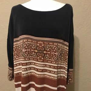 NWOT Free People Long Sleeve Dress